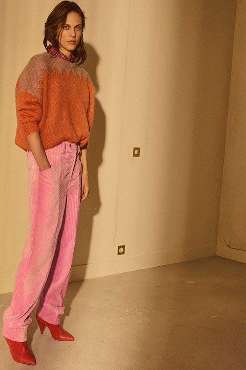 Изабель Марант вельветовые брюки